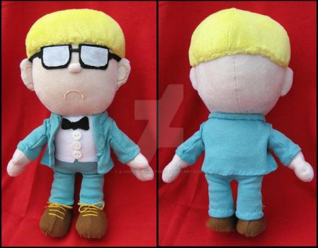 Jeff - Earthbound by A-chan--Creations