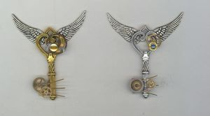 Steampunk Keys lot1 by Vyntresser