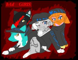 wild with her gang by blackmuttofdoom