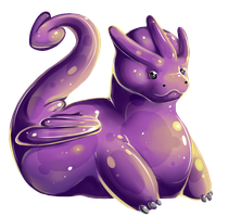 Dragon Squishy Commission by oddsocket