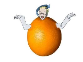 Colress as an Orange by mid0456