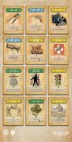 Dieselpunk Card Game by PaulRomanMartinez