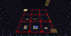 Tic Tac Toe Redstone Build - Players Area 2 by bugworlds