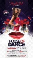 House of Dance Flyer by outlawv15