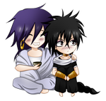 Sinbad and Judal by AkasunaKage