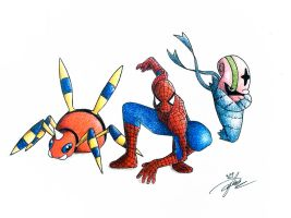 Marvel x Pokemon (Spider-man)