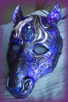 Celtic Horse Mask by Namingway