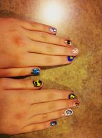 Nail art by Keltain