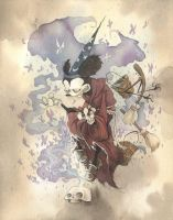 MICKEY THE CONJURER 2013 by GrisGrimly