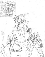 Random Mattie Sketches by ProjectHazoid
