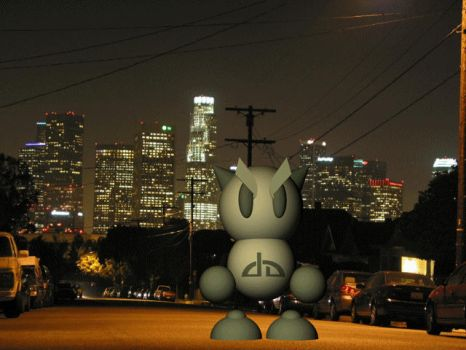 Fella at the L.A. Summit 2005 by danmoore