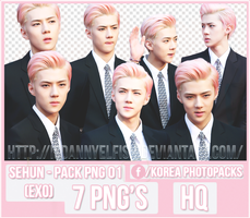 Sehun (EXO) - PACK PNG#01 by JeffvinyTwilight
