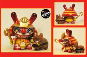 RASK OPTICON ronald mcd kidrobot by rAskopticon