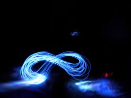 Figure Eight Light Magic by ninjatogo