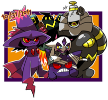 Pokemon_Halloween by kgym