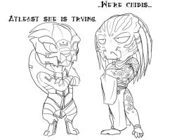 Little Turian Pred by peanutchan