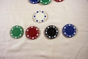 Poker Chip Stock 2 by GloomWriter