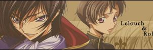 Lelouch and Rollo by Lloyd-Lamperouge