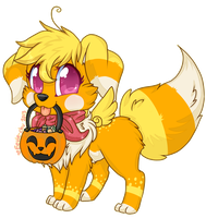 No Tricks, Just Treats by Eevie-chu
