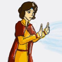 Master Jinora by AwkwardPotatoDraws
