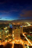 ortigas nightscape 5 by kjaex