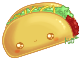 Cute Taco by Metterschlingel