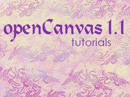 openCanvas 1.1 Tutorials Index by ArtistsHospital