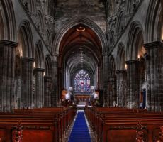 Gothic Interior by Paisguy
