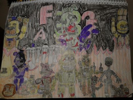 Fnaf 3 drawing by mrredplasmabird12