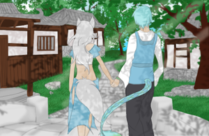 Walk with Me by XMangetsuX