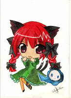 Orin touhou 2 by Capolecos