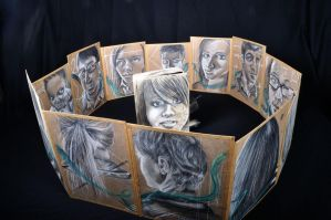 Faces in a Crowd Finished by DanielleBostic