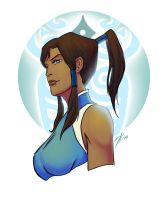 Korra the Avatar by rice-claire