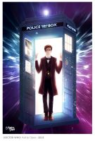 Doctor Who - Pull To Open by OrneryJen