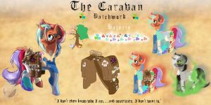 ED Loyalties (RP): The Caravan - Patchwork by CK-Fauxst