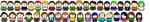 South Park Pixel Art - Set 4 by KaiserRangerPH12345