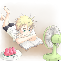 APH - Hot day by Mi-chan4649