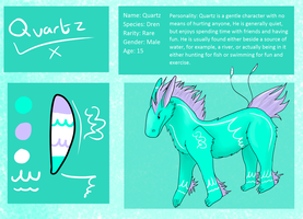 Quartz reference sheet by Orochising