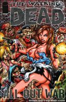 Naughty Jill Valentine zombie trouble sketch cover by gb2k