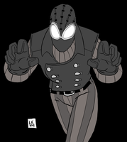Spider-man NOIR by EarthmanPrime
