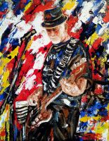 The bassist by amoxes