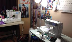 New embroidery sewing machine by Kitamon