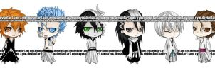 BLEACH chibi by xync