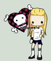 Avril Lavigne Best Damn Thing by NickyToons