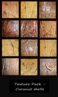 Texture Pack - Coconut Shells by rockgem