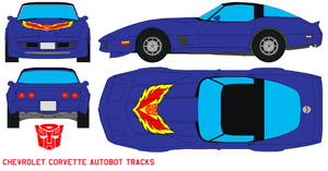 autobot Tracks Corvette by bagera3005