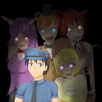 Five Nights At Freddy's by LILDanica