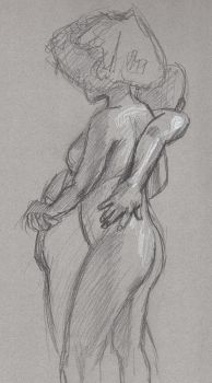 Life Drawing practice by FredHooper