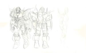 Rough Concepts 02 Rodimus Rotation by DStevensArt