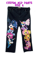 Custom Mlp Pants by anotherclichejrocker